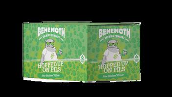 Behemoth Hopped Up on Pils 6pk 330ml cans
