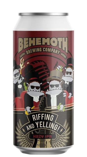 Behemoth Riffing and Yelling Hazy IPA 440ml can