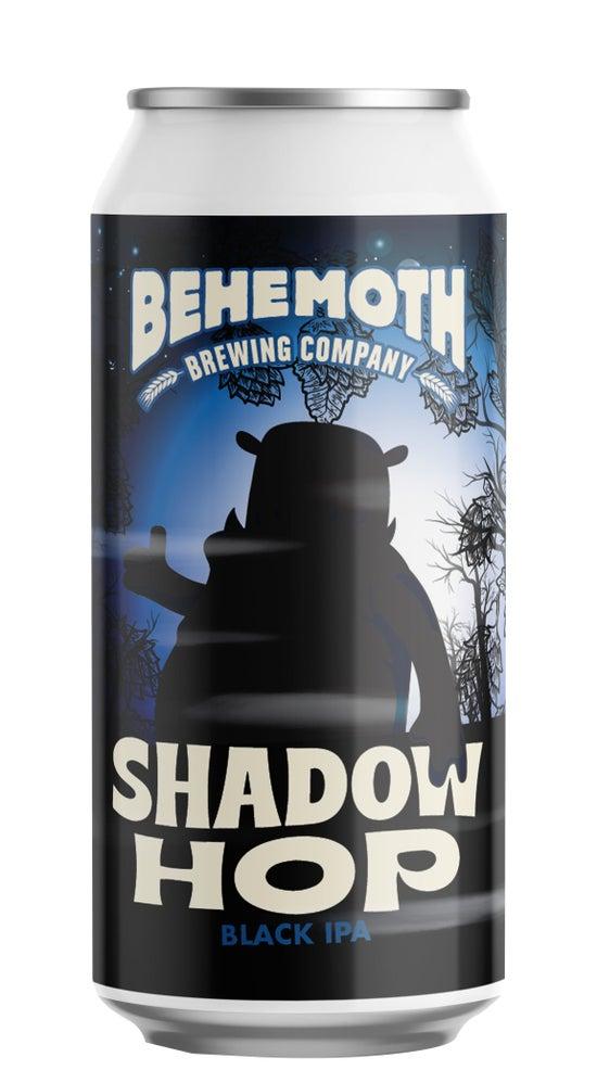 Behemoth Shadow Hop Black IPA 440ml can