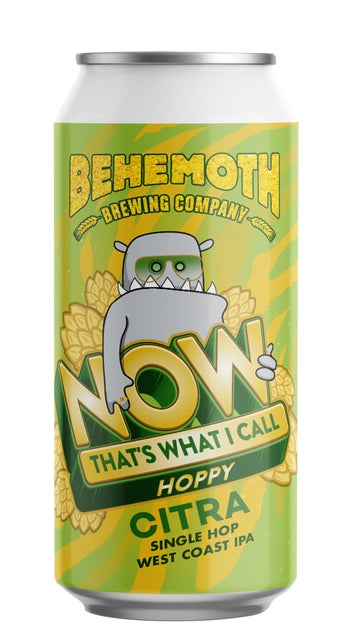 Behemoth Now That's What I Call Hops: Citra IPA 440ml can