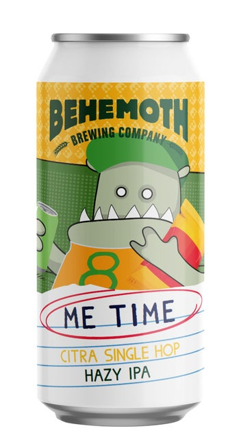 Behemoth Me Time Citra Hazy IPA 440ml can