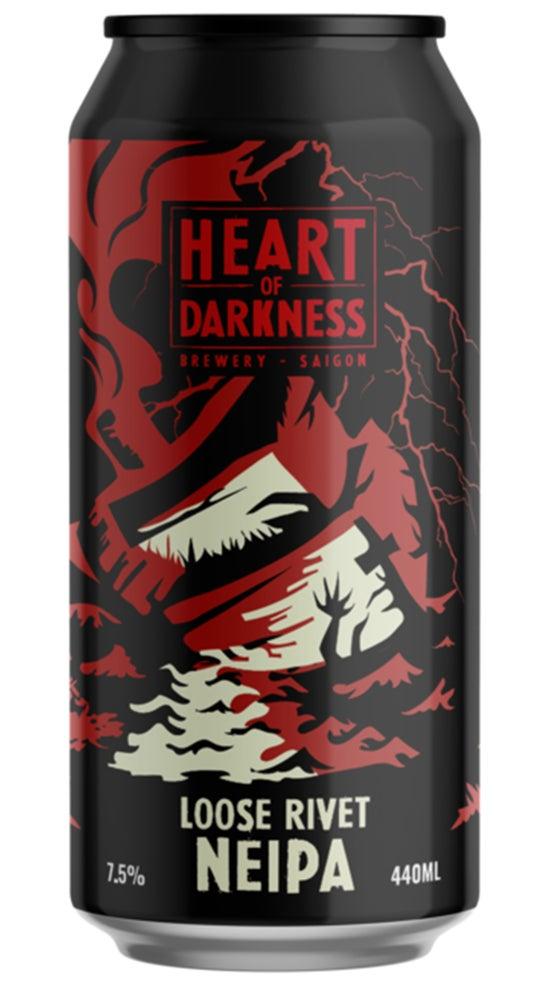 Heart of Darkness Loose Rivet Hazy IPA 440ml can