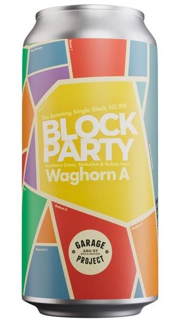 Garage Project Block Party Waghorn A Single Origin IPA 440ml can
