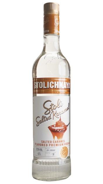 Stoli Salted Caramel Vodka 700ml bottle
