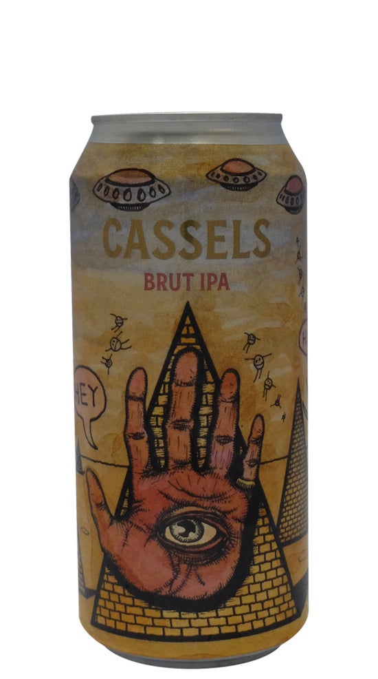 Cassels & Sons Brut IPA 440ml can