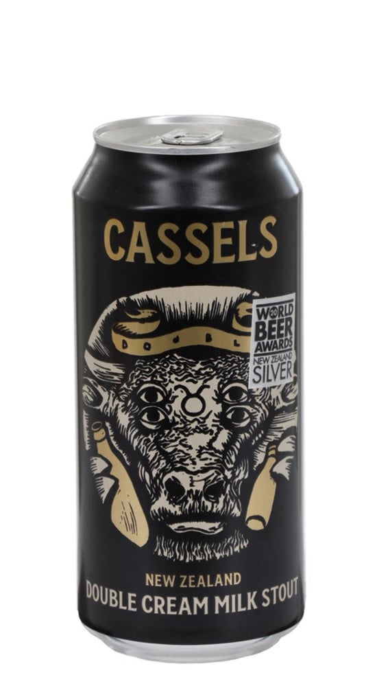 Cassels Double Cream Milk Stout 440ml can