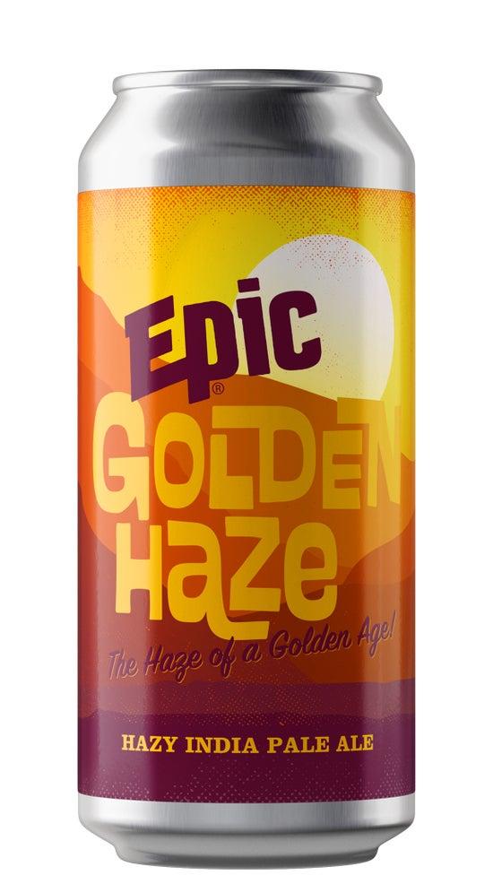 Epic Golden Haze IPA 440ml can