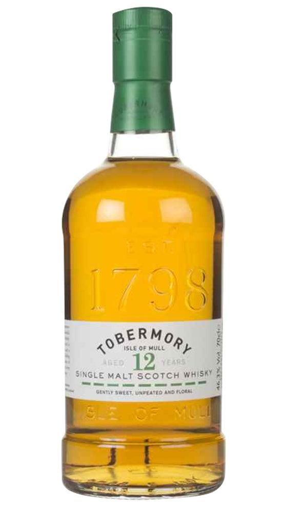 Tobermory 12 YO Isle of Mull Single Malt Scotch Whisky