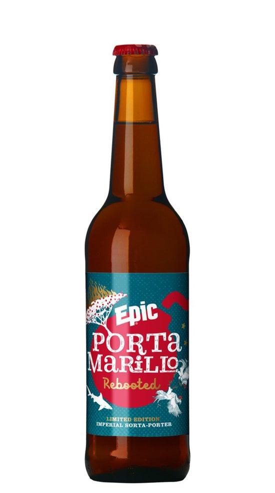 Epic Portamarillo Porter 500ml bottle