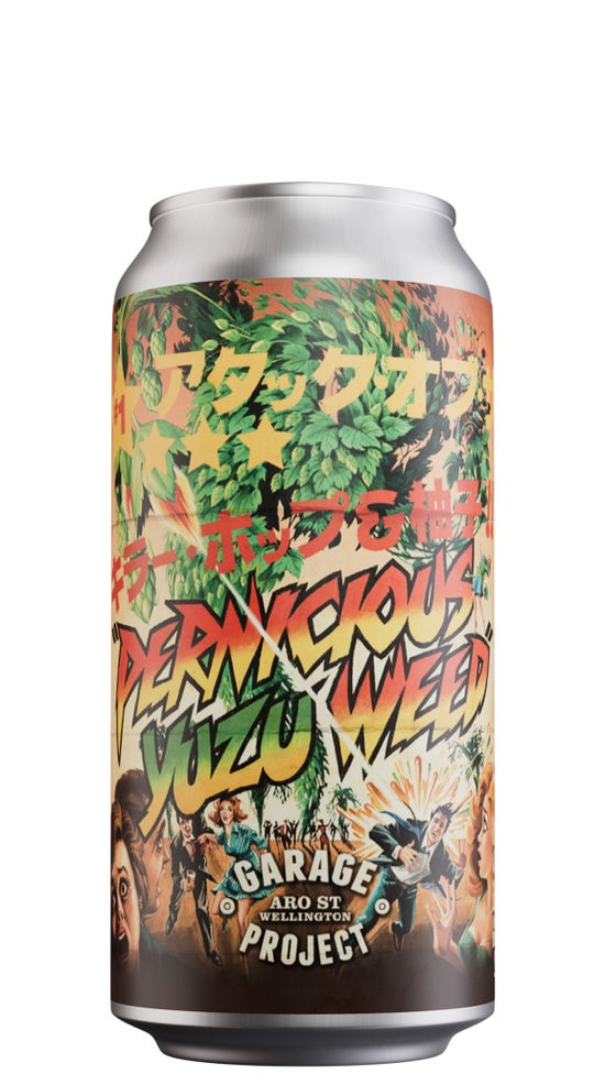 Garage Project Yuzu Pernicious Weed 440ml can