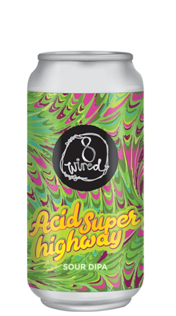 8 Wired Acid Superhighway Sour DIPA 440ml can