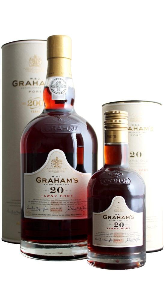Graham's 20yr Old Tawny Port 750ml + 200ml