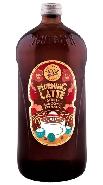 Good George Morning Latte Stout 946ml bottle