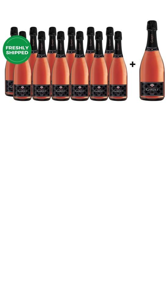 Champagne Gardet Brut Rose Dozen + Bonus Magnum