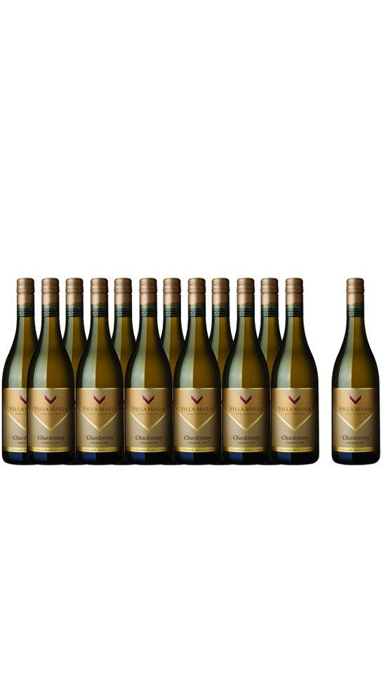 Villa Maria Cellar Selection Hawkes Bay Chardonnay 13 Botttle Dozen