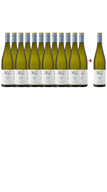 2020 Misha's Vineyard Pinot Gris 13btl Dozen - incl 1 x 2010 vintage