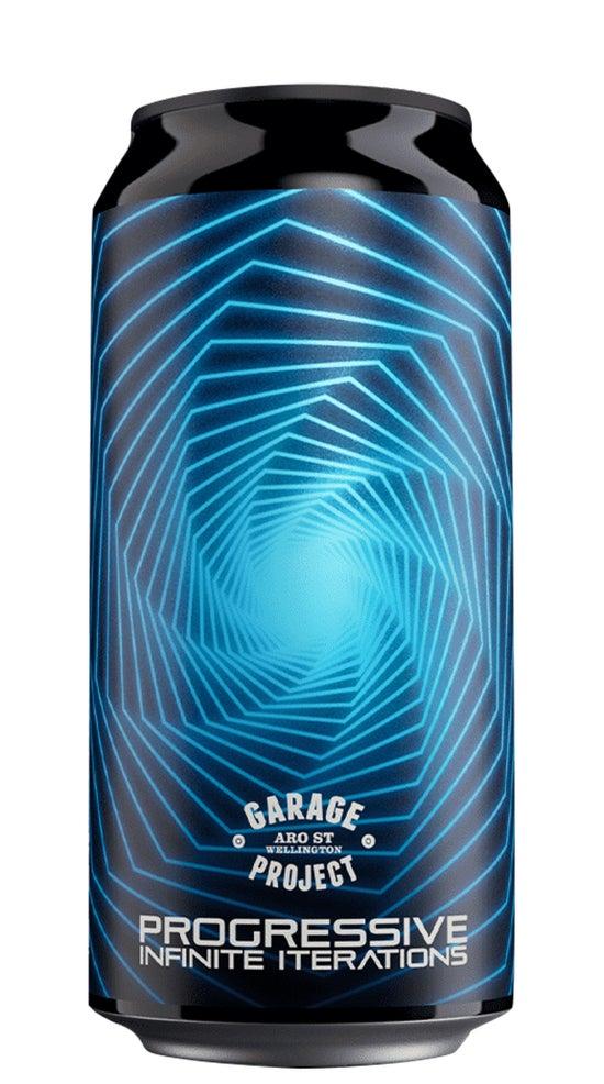 Garage Project Progressive Infinite Iterations Hazy IPA 440ml can