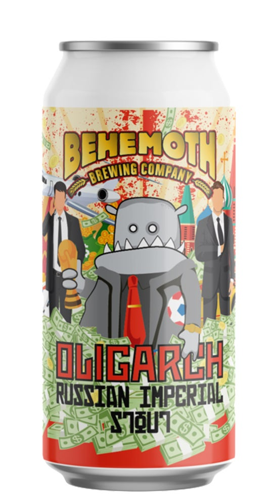 Behemoth Oligarch Russian Imperial Stout 440ml can