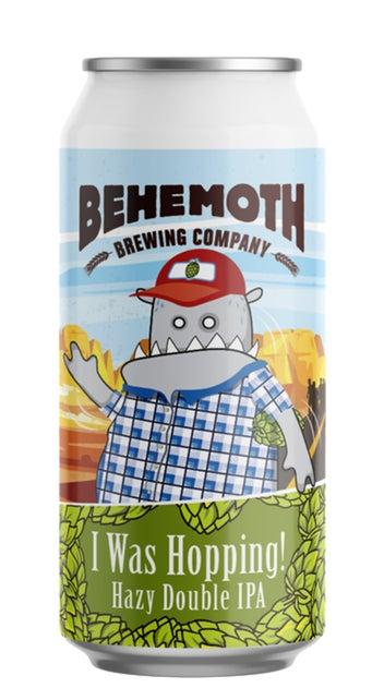 Behemoth I Was Hopping Double Hazy IPA 440ml can