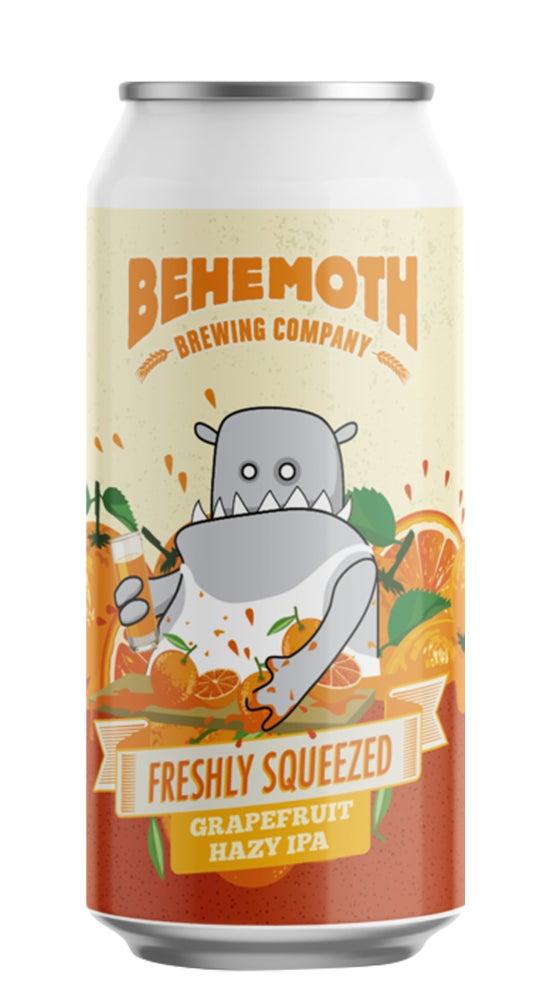 Behemoth Freshly Squeezed Grapefruit Hazy IPA 440ml can
