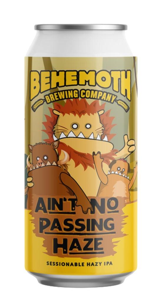 Behemoth Aint No Passing Haze Session Pale Ale 440ml can