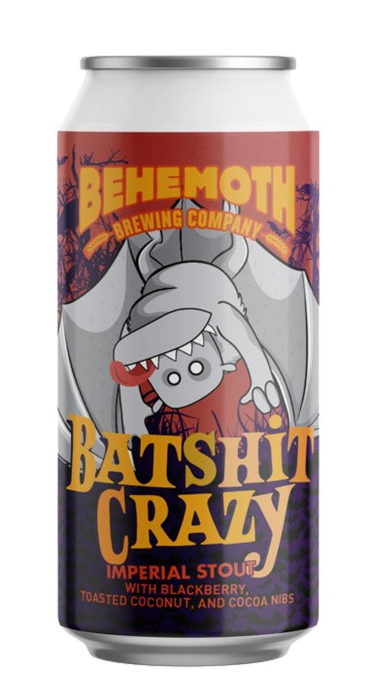 Behemoth Batshit Crazy Imperial Stout 440ml can