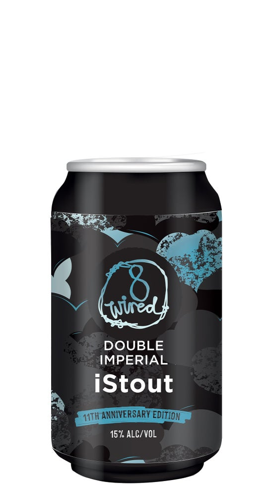8 Wired Double Imperial iStout 330ml can