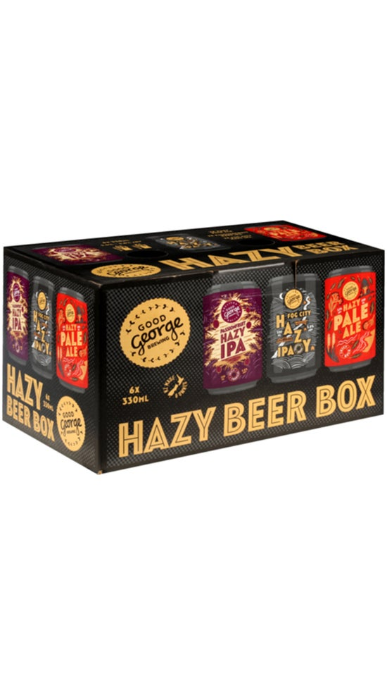 Good George Hazy Beer Mixed Pack 6 x 330ml can