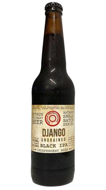 Bootleg Brewery Django Ungrained Black IPA 500ml bottle