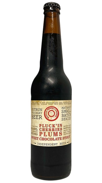 2021 Bootleg Brewery Pluck'in Cherries Plums Sweet Chocolate Stout 500ml bottle