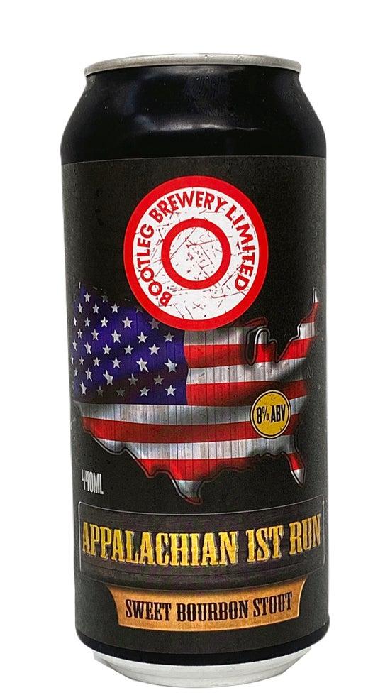 Bootleg Brewery Appalachian 1st Run Sweet Bourbon Stout 440ml can