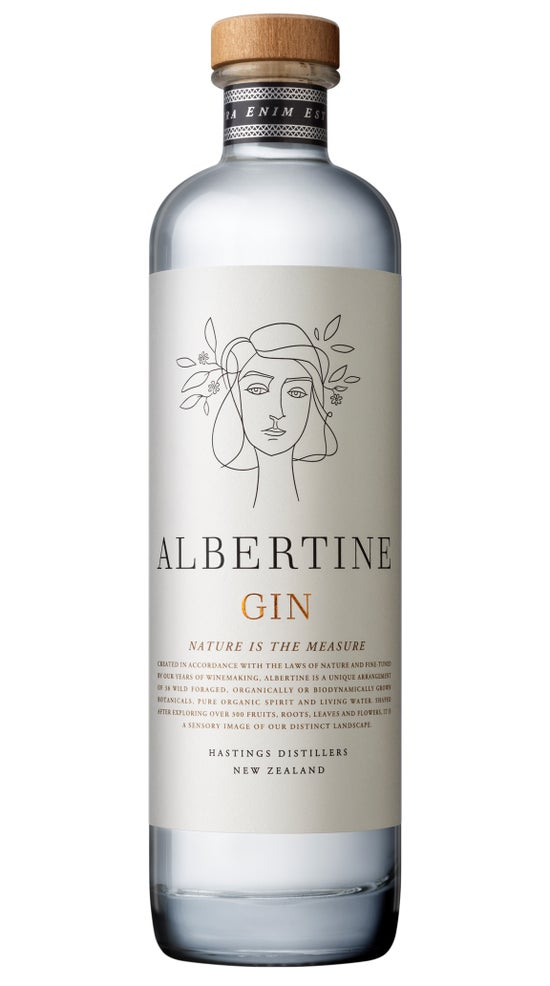 Hastings Distillers Albertine Gin 500ml bottle