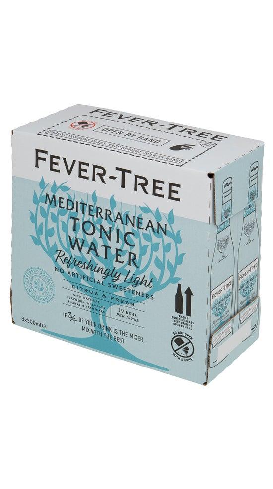 Fever-Tree Refreshingly Light Mediterranean Light Tonic 8 x 500ml pack