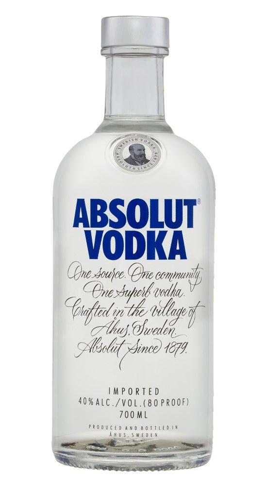 Absolut Vodka 700ml bottle