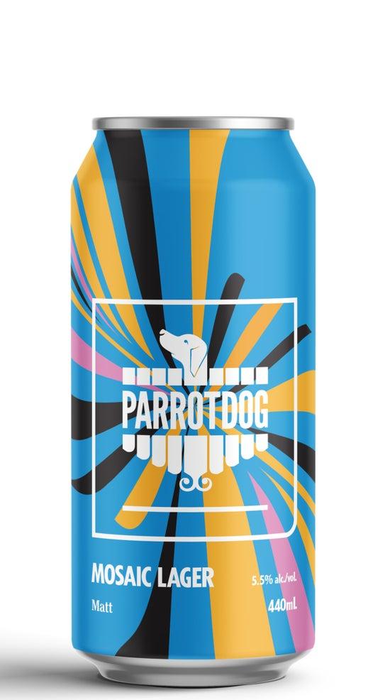 Parrotdog Matt Mosaic Lager 440ml can