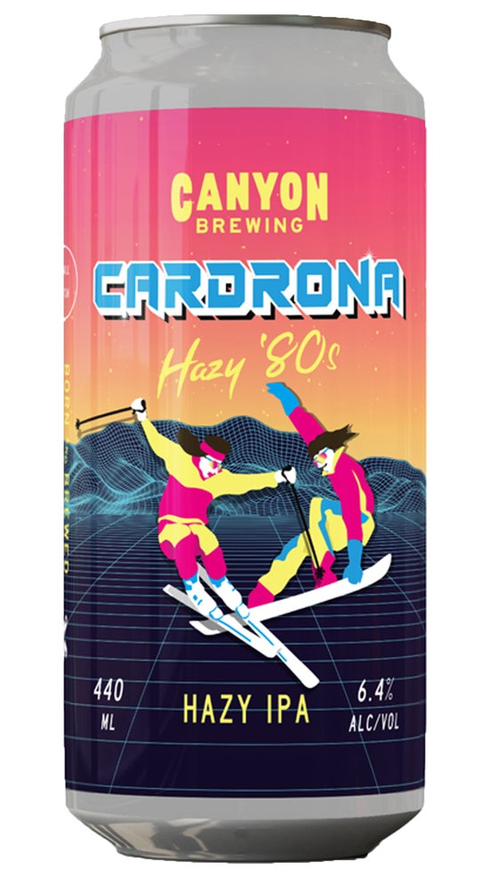 Canyon Cardrona 40th Anniversary Hazy IPA 440ml can