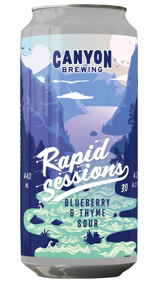 Canyon Rapid Sessions #3 - Blueberry & Thyme Sour