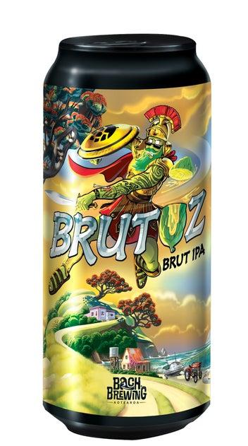 Bach Brewing Brutuz Brut IPA 440ml can