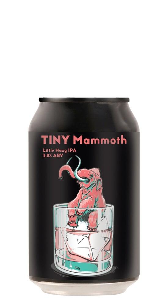 Double Vision Tiny Mammoth Session Hazy IPA 330ml can