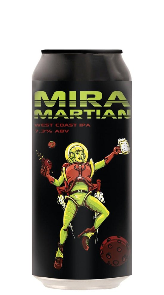 Double Vision Mira Martian West Coast IPA 440ml can