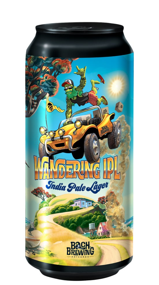 Bach Brewing Wandering IPL India Pale Lager 440ml can
