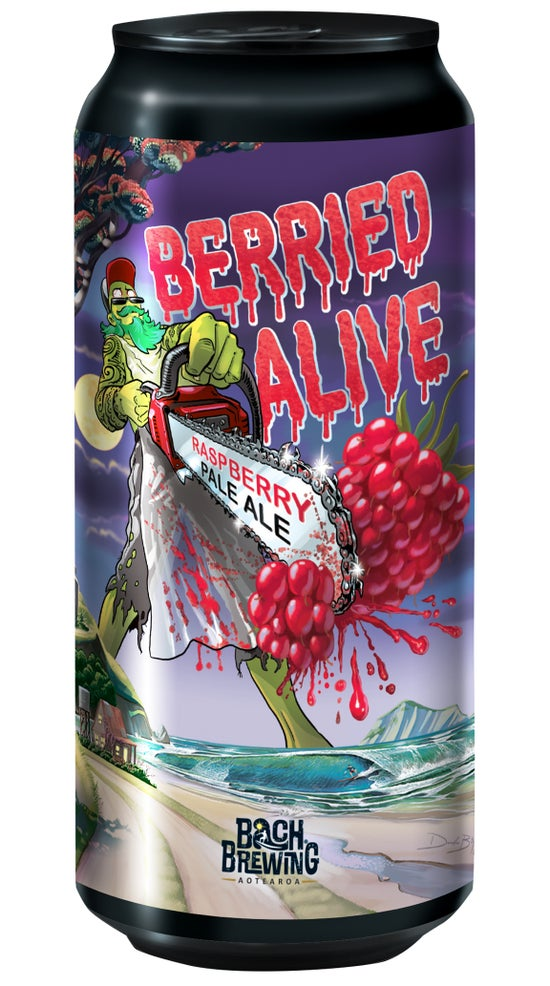 Bach Brewing Berried Alive Raspberry Pale Ale 440ml can