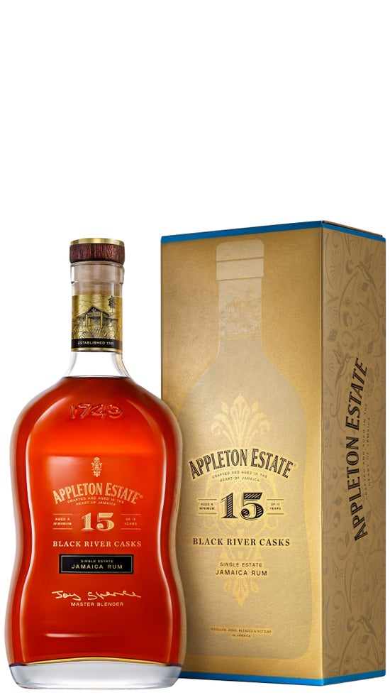 Appleton Estate 15yr old Rum 750ml bottle