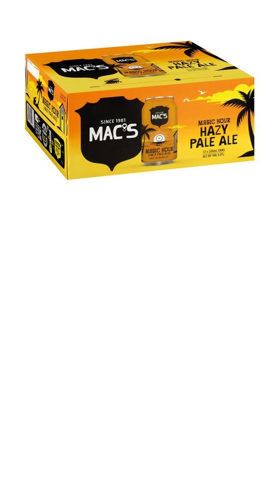 Mac's Magic Hour Hazy Pale Ale 12 pack 330ml can