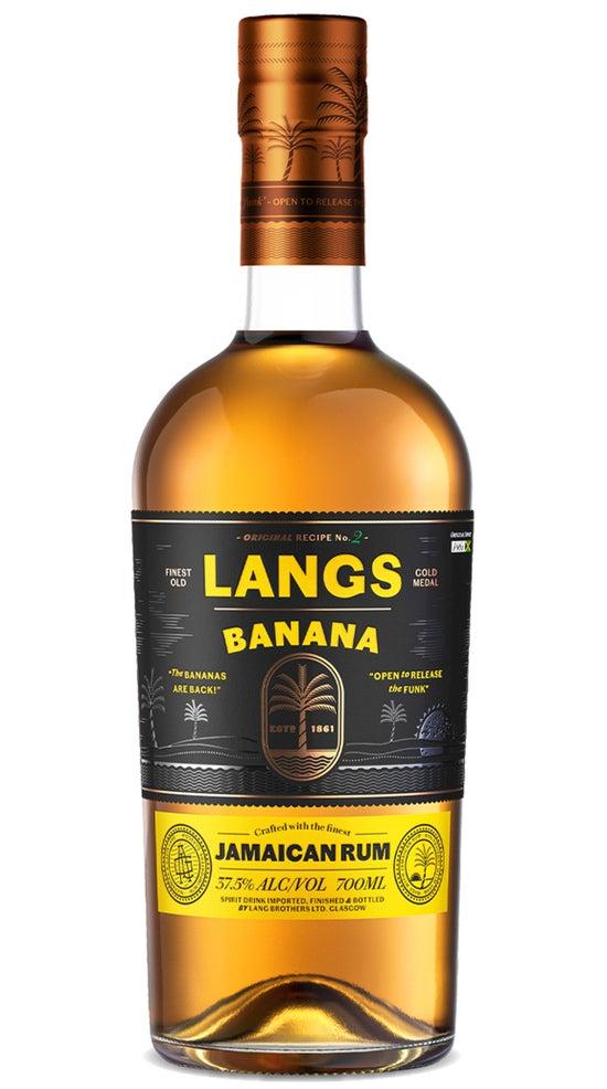 Langs Jamaican Rum Banana 700ml bottle