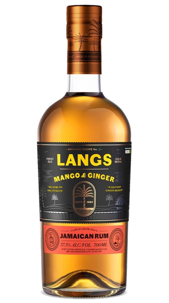 Langs Jamaican Rum Mango & Ginger 700ml bottle