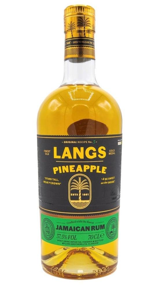 Langs Jamaican Rum Pineapple 700ml bottle
