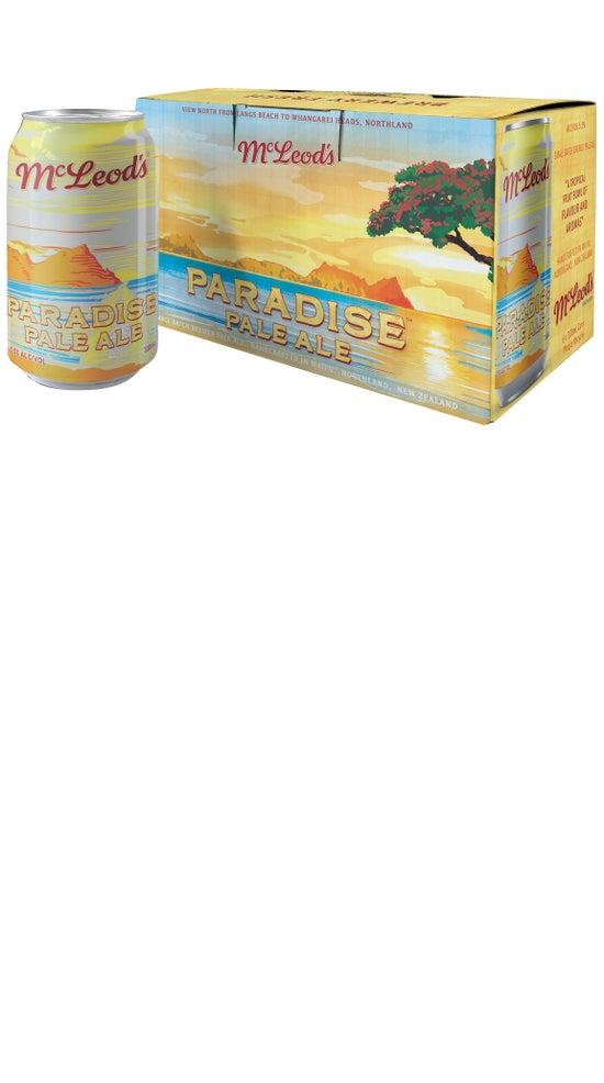McLeod's Paradise Pale Ale 6pk 330ml cans