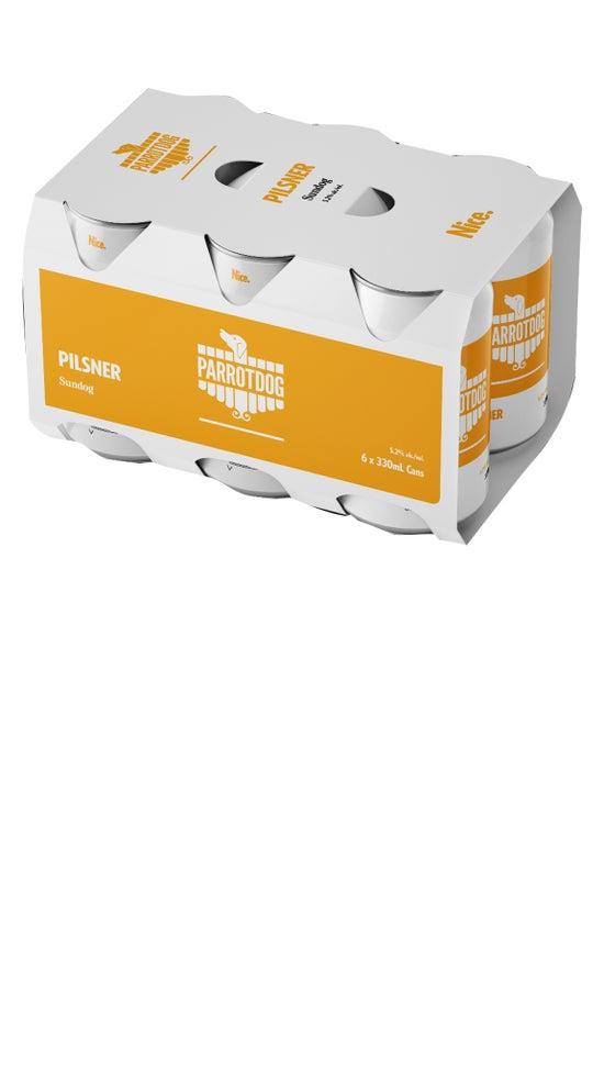 Parrotdog Sundog Pilsner 6pk 330ml cans