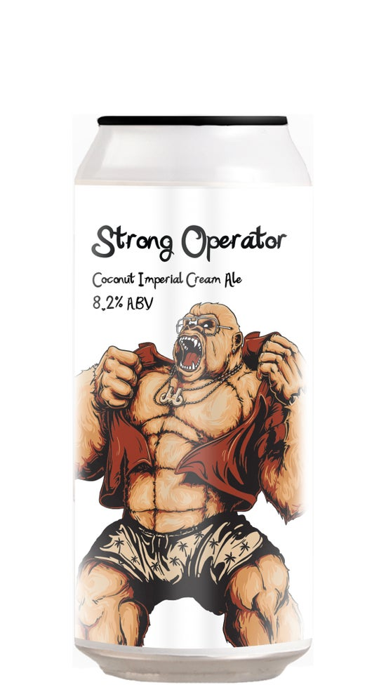 Double Vision Strong Operator Imperial Cream Ale 440ml can